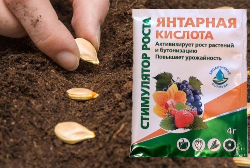 кислота в таблетках: применение для растений