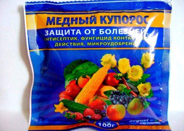 Чем обработать плодовые весной от вредителей и болезней: медный купорос