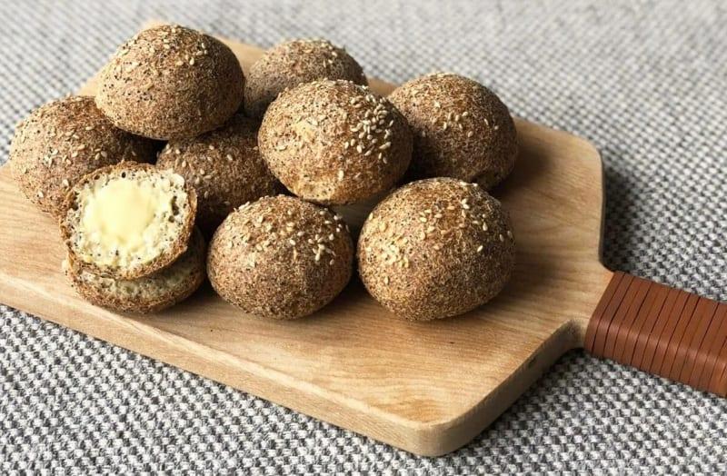 Простые рецепты булочек для кето диеты